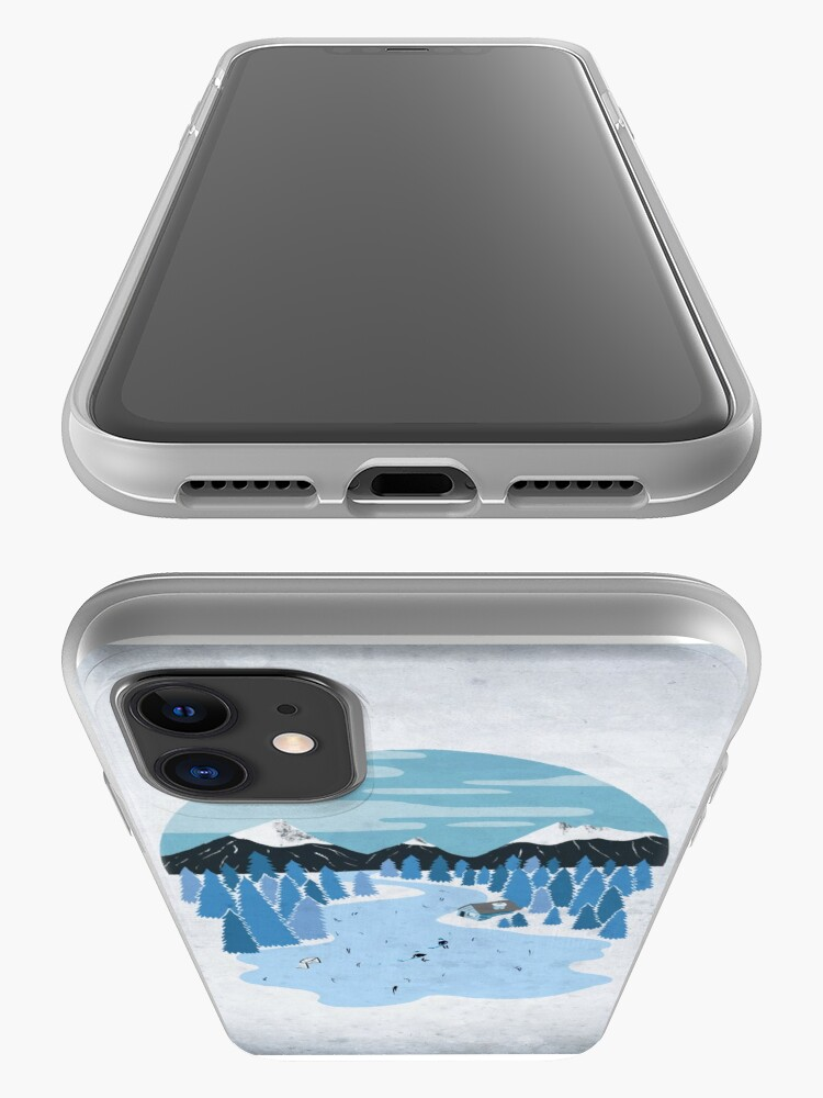 Alternate view of Pond Hockey iPhone Case & Cover