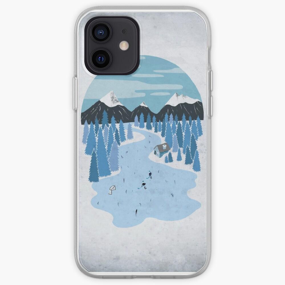 Pond Hockey iPhone Case