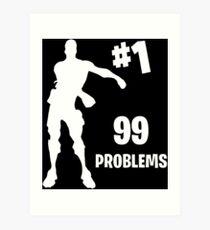 Lámina artística 99 problems