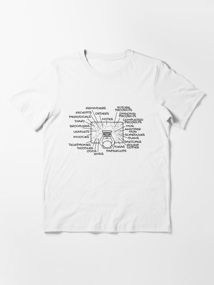 Alternative Ansicht von Messy Desk Organisazion - Messy Desk Gift Essential T-Shirt