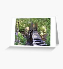 Historic Mill Creek Discovery Park Greeting Card