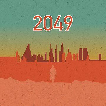 2049 City - Blade Runner by Soronelite