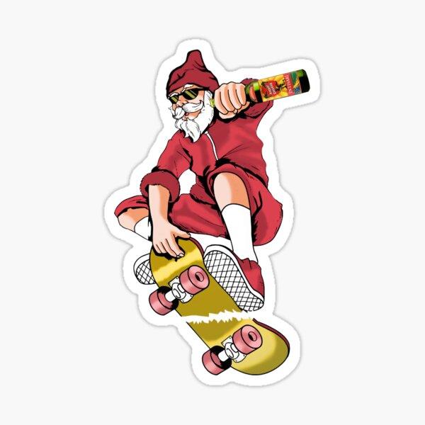 Skateboarder Scharf Lustig Tragetasche Shopper Geschenk Skater Sport Extreme