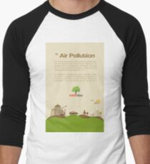 Air Pollution  Men's Baseball ¾ T-Shirt