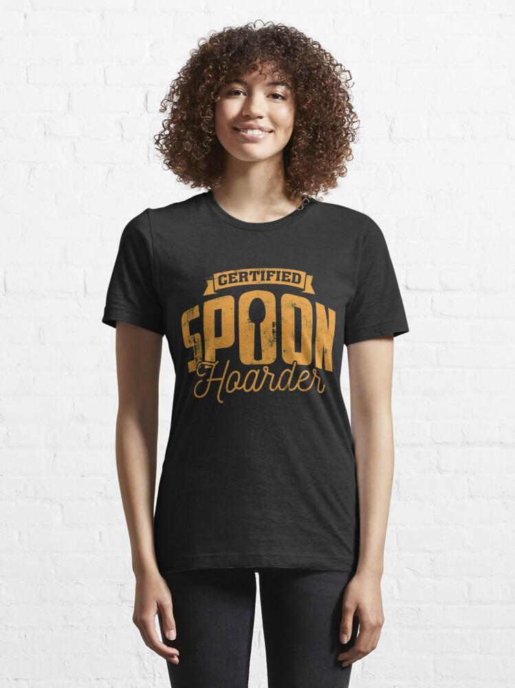 Alternative Ansicht von Certfied Spoon Hoarder Autoimmune Disease - Autoimmune Disease Gift Essential T-Shirt