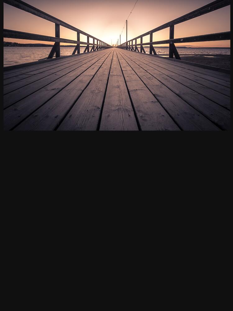 Sonnenuntergang in Dalarna Schweden von berra