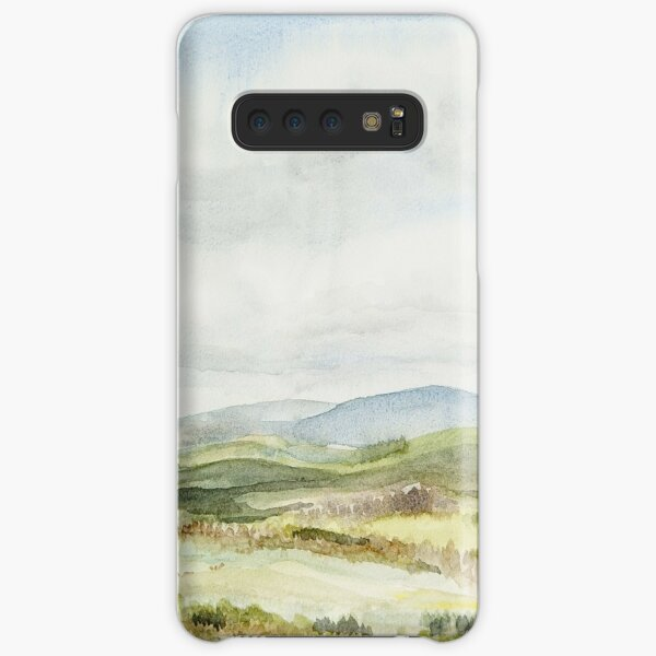 View of the Cheviots from Thrunton Wood Samsung Galaxy Snap Case