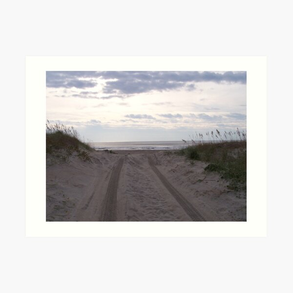 Beach Road Art Print