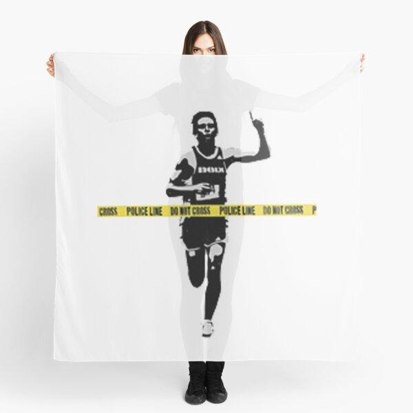 Banksy Marathon Runner Police Line Scarf