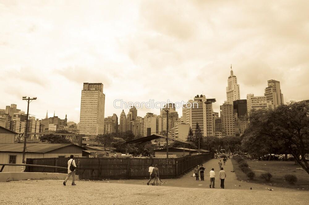 Bigger City Urban People by Chaordicphoton