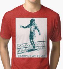 Kraken Las Olas Tri-blend T-Shirt