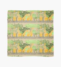 Giraffen herum Tuch