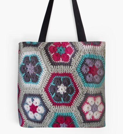 Crochet Kaleidoscope ... Tote Bag