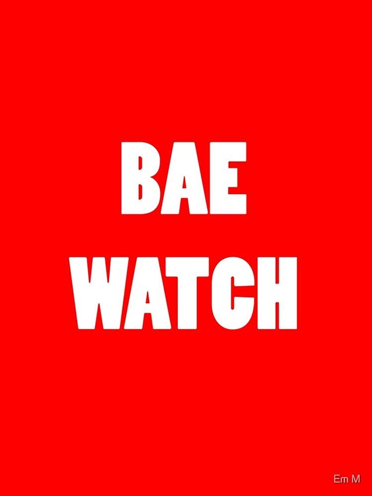 BAE WATCH by killthespare89