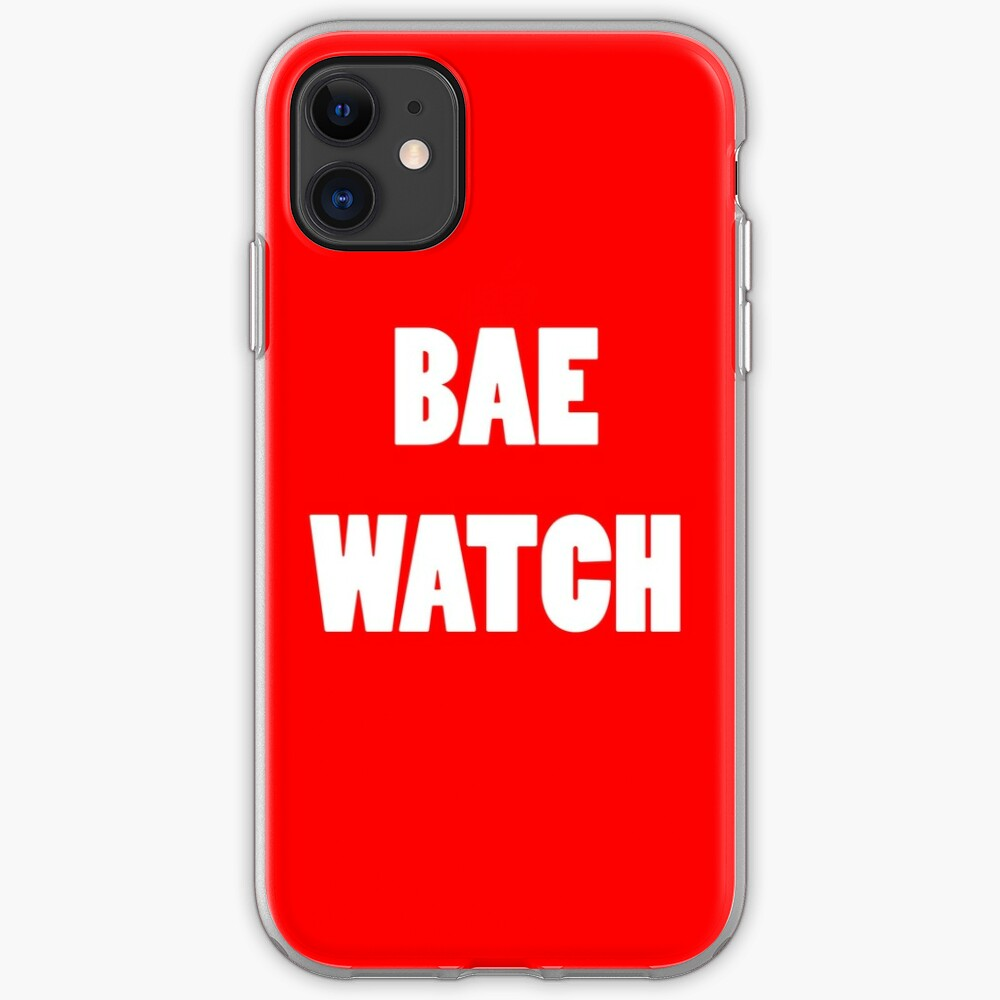 BAE WATCH iPhone Case & Cover
