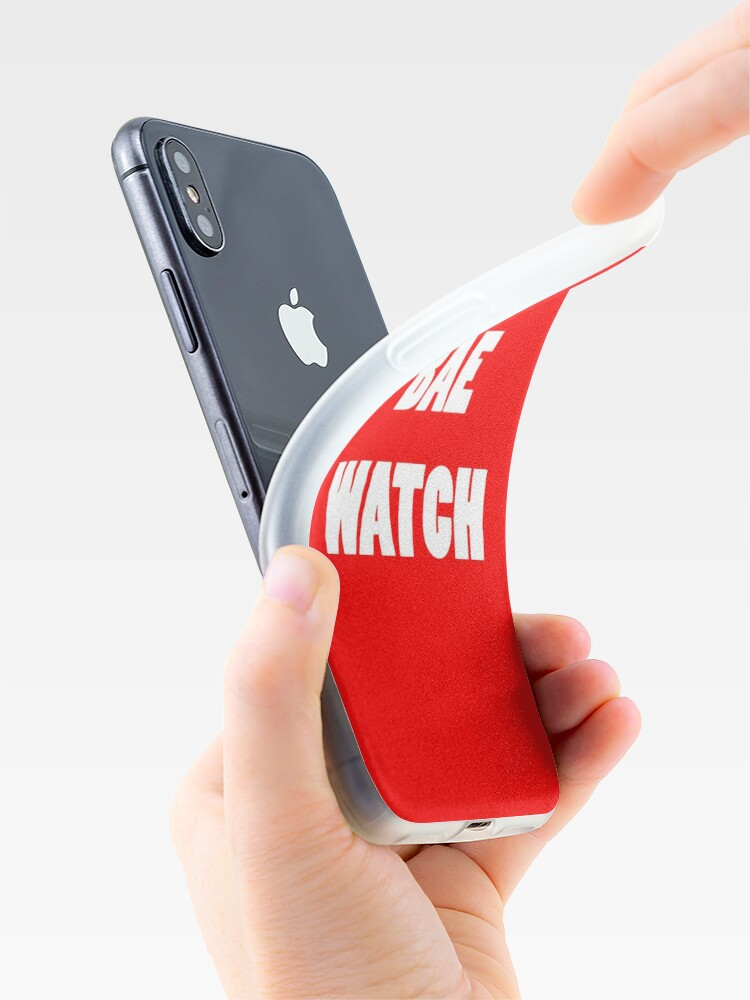 Alternate view of BAE WATCH iPhone Case & Cover