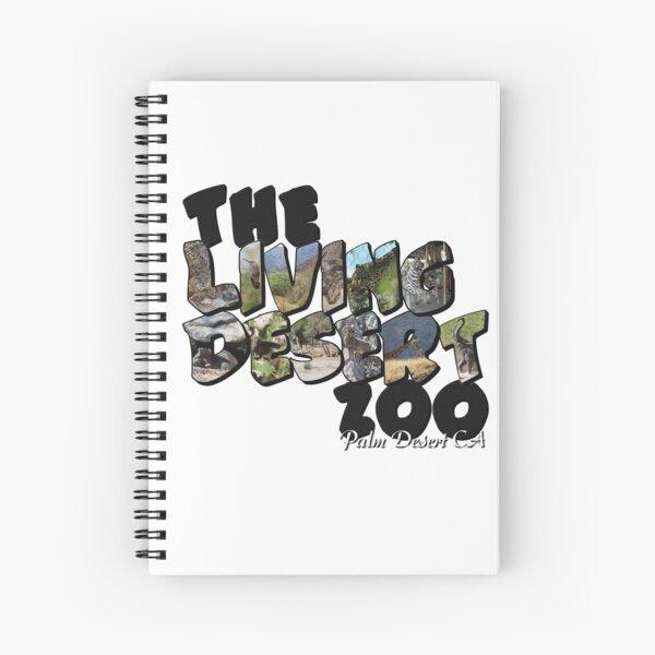 The Living Desert Zoo Big Letter Spiral Notebook