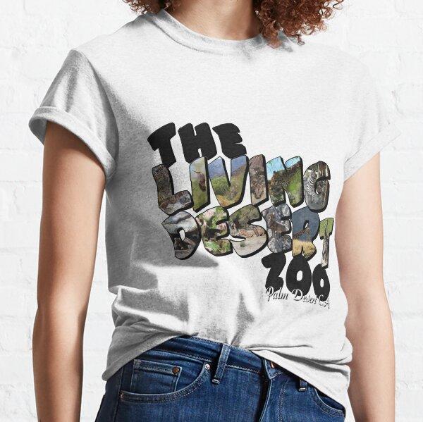 The Living Desert Zoo Big Letter Classic T-Shirt