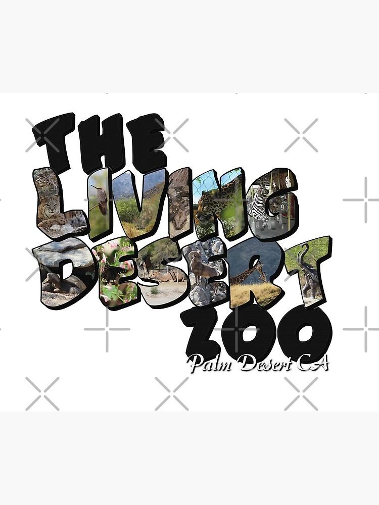 The Living Desert Zoo Big Letter by ButterflysAttic