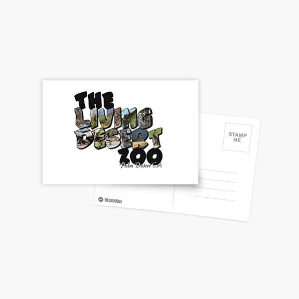 The Living Desert Zoo Big Letter Postcard