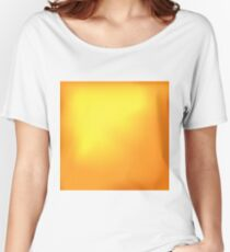 Abstract Orange Hot Background Women's Relaxed Fit T-Shirt