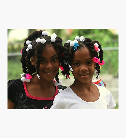 Twins Photographic Print