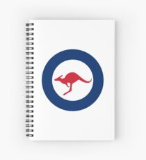 Royal Australian Air Force - Roundel Spiral Notebook