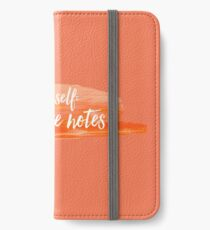 note to self iPhone Wallet/Case/Skin