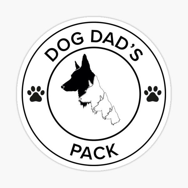 Hund Dads Pack Merch Sticker