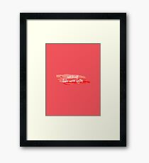 note to self 2 Framed Print