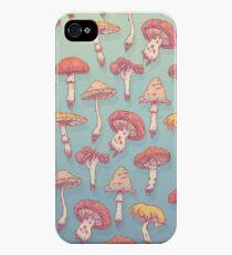 Champignons iPhone 4s/4 Case