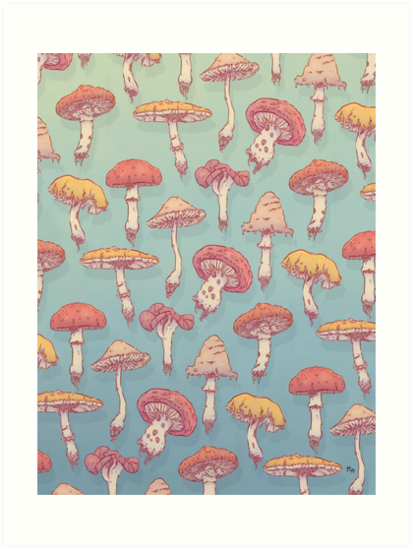 Champignons by HypathieAswang