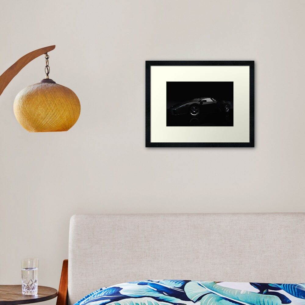 Large Objects of Desire Framed Art Print
