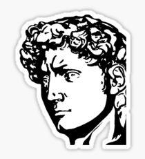 David Profile 1 Sticker