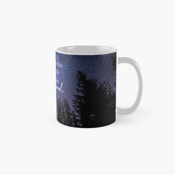 To the stars who listen and the dreams that are answered Classic Mug