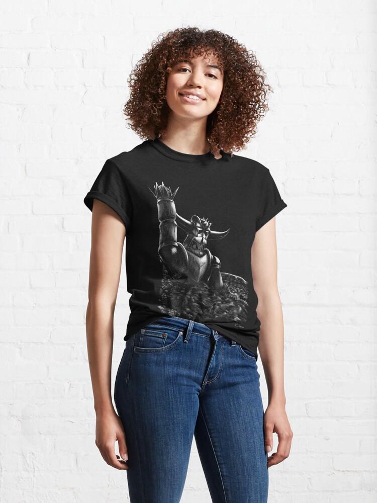T-shirt classique ''Wrong planet': autre vue