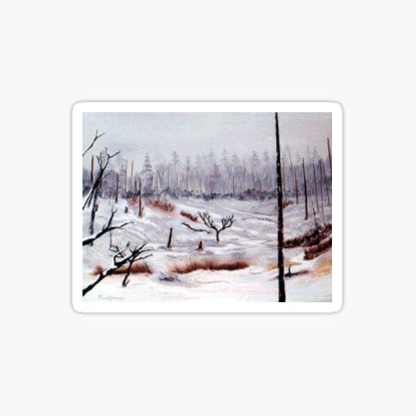 Winter Field Sticker