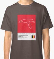 Circuit de Spa-Francorchamps - v2 Classic T-Shirt