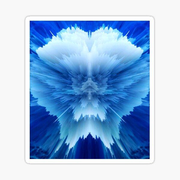 Ice Blue Sticker