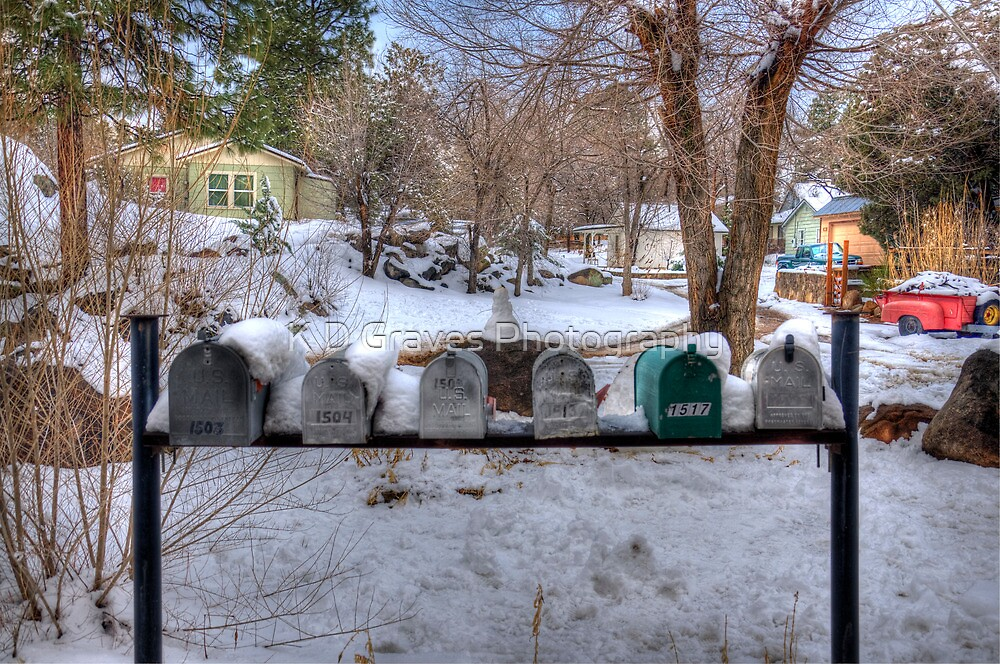 Country Mailboxes  by K D Graves Photography