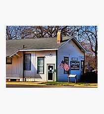 Jimmy Carter's Campaign Headquarters Photographic Print