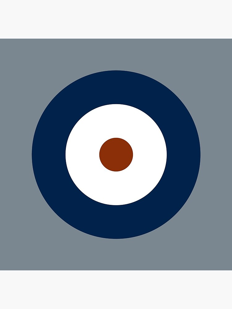 Royal Air Force - histórico Roundel tipo A 1937 - 1942 de wordwidesymbols