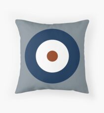 Royal Air Force - Historical Roundel Type A 1937 - 1942 Throw Pillow