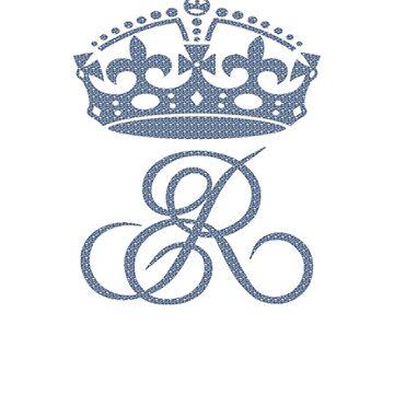 Elizabeth II T-Shirt ER Crown UK Monarch God Save The Queen by TopTeeShop