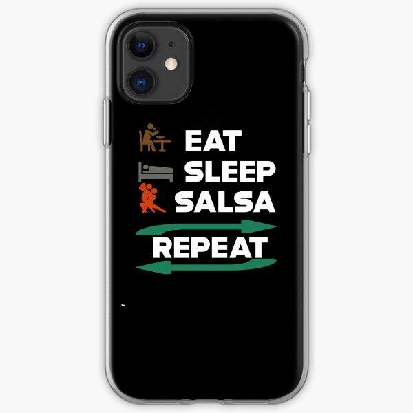 Eat Sleep Salsa Repeat iPhone Soft Case