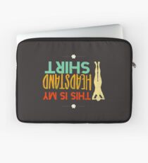 Funny This is my headstand pose (Asana) yoga Laptop Sleeve
