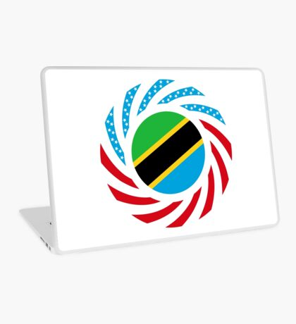 Tanzanian American Multinational Patriot Flag Series Laptop Skin