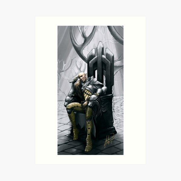 A moment of refection Art Print