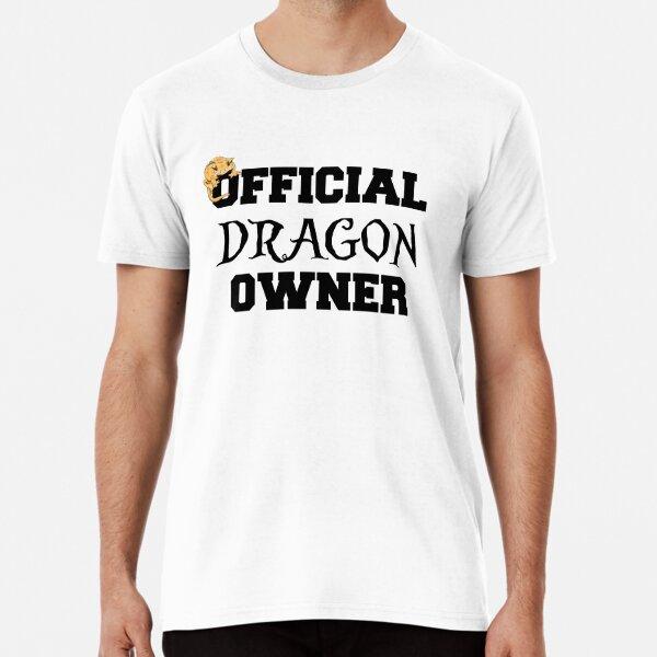 Official Dragon Owner Crested Gecko Design Premium T-Shirt