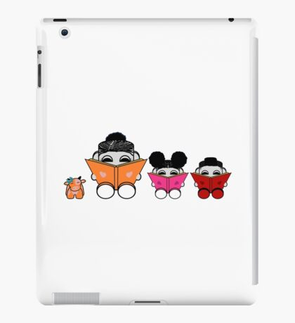 Reading is a Family Affair: The Yum O'BABYBOT Toy Robots 1.0 iPad Case/Skin